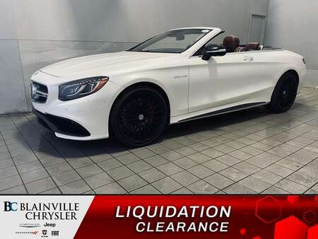 2017 Mercedes-Benz S-Class AMG S 63 * MAGS 22 *. CRUISE * CONVERTIBLE * for Sale  - BC-S2186  - Blainville Chrysler
