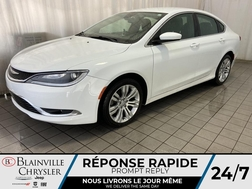 2015 Chrysler 200 LIMITED * CAMERA RECUL * GPS * BLUETOOTH *  - BC-P1615A  - Desmeules Chrysler