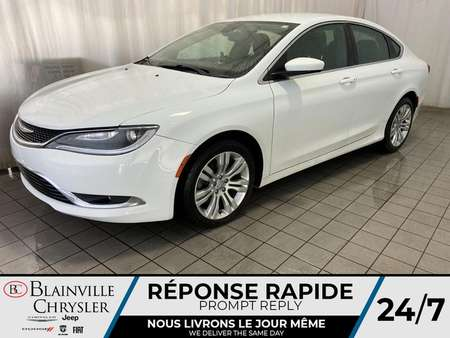 2015 Chrysler 200 LIMITED * CAMERA RECUL * GPS * BLUETOOTH * for Sale  - BC-P1615A  - Desmeules Chrysler