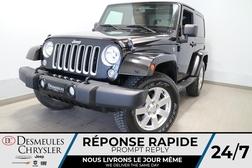 2018 Jeep Wrangler JK SAHARA 4X4 * A/C * BLUETOOTH * CRUISE * NAVIGATION  - DC-R2738  - Blainville Chrysler