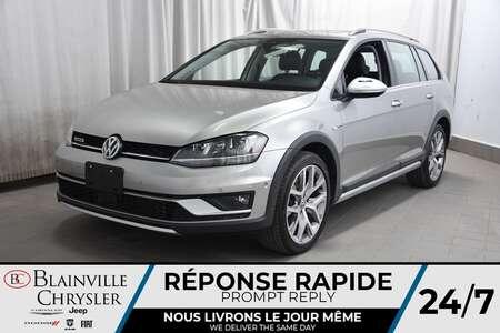 2017 Volkswagen Golf Alltrack 1.8 TSI * CUIR * TOIT PANO * GPS * CAMERA DE RECUL for Sale  - BC-P1611  - Desmeules Chrysler