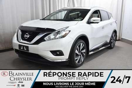 2016 Nissan Murano PLATINIUM * CUIR * TOIT * GPS * SIEGES CHAUFFANTS for Sale  - BC-P1612  - Desmeules Chrysler