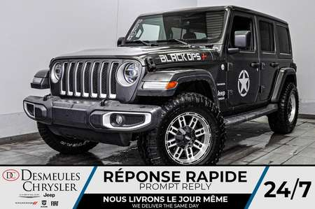 2019 Jeep Wrangler Sahara + BANCS CHAUFF + WIFI + UCONNECT 146$/SEM for Sale  - BC-90727  - Desmeules Chrysler