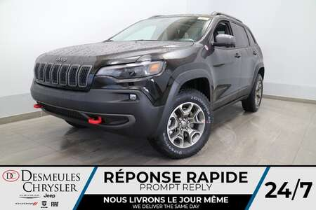 2021 Jeep Cherokee Trailhawk 4X4 * NAVIGATION * TOIT OUVRANT * CUIR * for Sale  - DC-21272  - Desmeules Chrysler