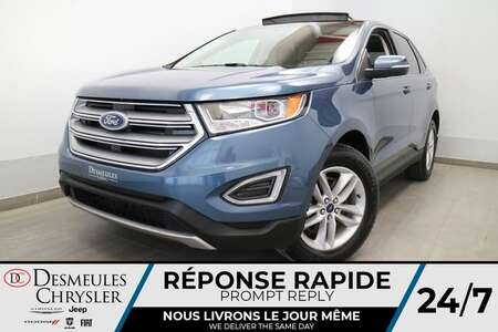 2018 Ford Edge SEL AWD * NAVIGATION * TOIT OUVRANT * CUIR * for Sale  - DC-B2897A  - Blainville Chrysler