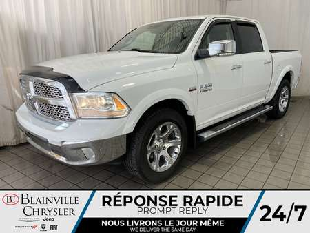 2017 Ram 1500 Laramie * CAM RECUL * BLUETOOTH * CUIR * 4X4 * for Sale  - BC-P1693  - Blainville Chrysler