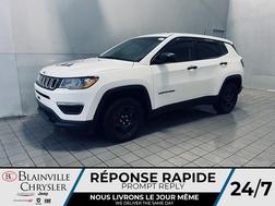 2019 Jeep Compass Sport * CRUISE * CAMERA DE RECUL * MANUEL * WOW !  - BC-21490A  - Blainville Chrysler