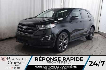 2017 Ford Edge Sport * SIÈGES CHAUFFANTS ET VENTILÉS * GPS * for Sale  - BC-P1884  - Blainville Chrysler