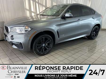 2017 BMW X6 INTERIEUR ROUGE * GPS * TOIT OUVRANT * TRES PROPRE for Sale  - BC-S1685  - Blainville Chrysler
