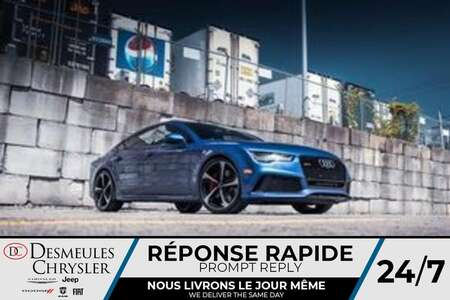 2017 Audi RS 7 Prestige AWD * NAVIGATION * TOIT OUVRANT * A/C * for Sale  - BC-LUDO013  - Desmeules Chrysler