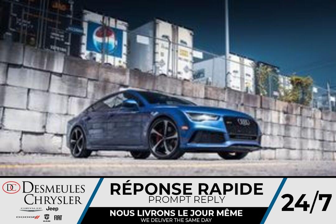2017 Audi RS 7  - Desmeules Chrysler