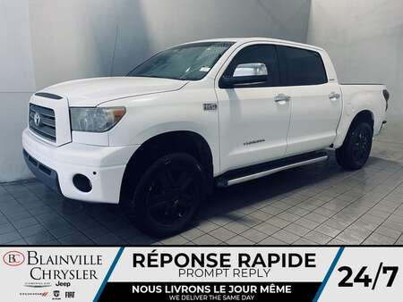 2008 Toyota Tundra LIMITED * 4X4 * CUIR * TOIT * CAMERA DE RECUL * for Sale  - BC-S2237  - Desmeules Chrysler