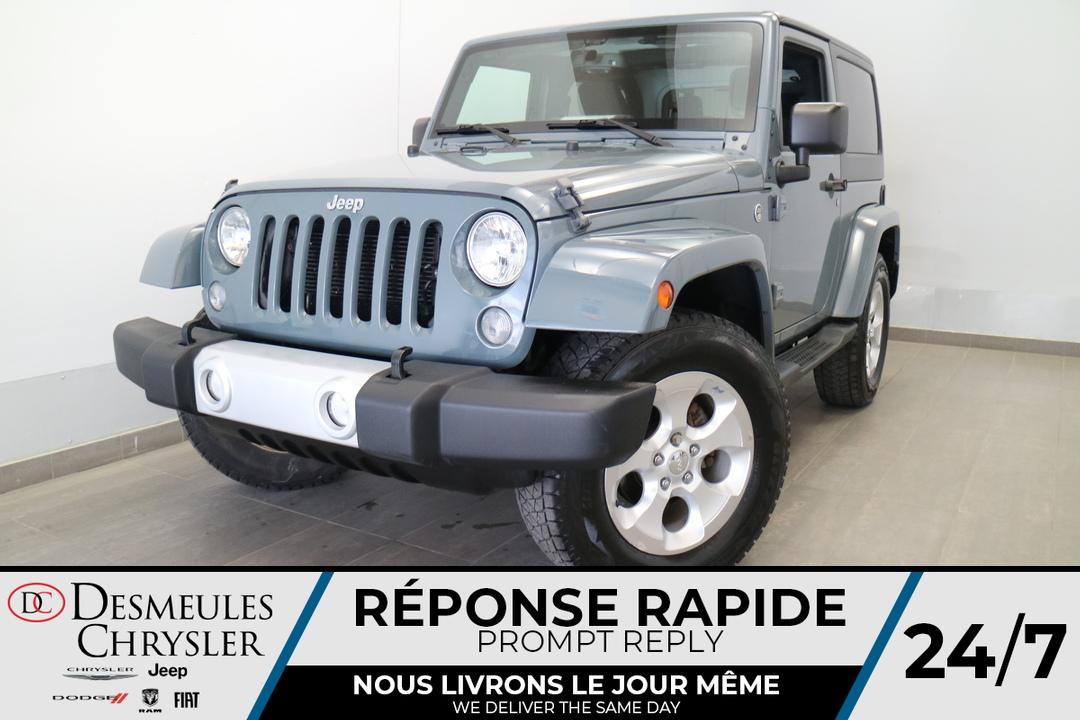 2015 Jeep Wrangler  - Blainville Chrysler