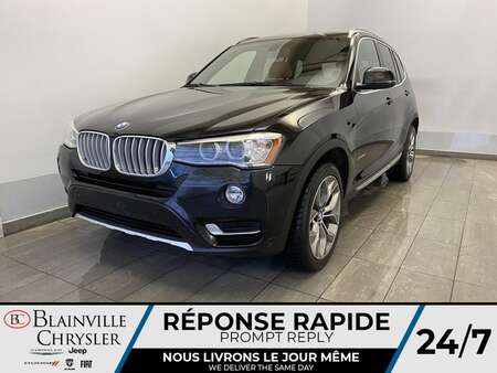 2015 BMW X3 xDrive28i AWD * GPS * CAM RECUL * BLUETOOTH * for Sale  - BC-P2006  - Blainville Chrysler