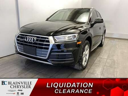 2018 Audi Q5 GPS * SIEGES ET VOLANT CHAUFFANTS * CAM RECUL * for Sale  - BC-S1994  - Desmeules Chrysler