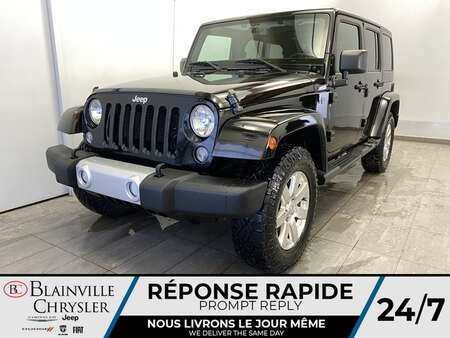 2015 Jeep Wrangler Unlimited 4WD * A/C * GPS * for Sale  - BC-21157A  - Blainville Chrysler