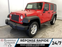 2015 Jeep Wrangler Unlimited 4WD * AUTOMATIQUE * CRUISE * A/C  - BC-21183A  - Blainville Chrysler