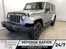 2017 Jeep Wrangler Unlimited * GPS * SIEGES CHAUFFANTS * BLUETOOTH  - BC-20606A  - Blainville Chrysler
