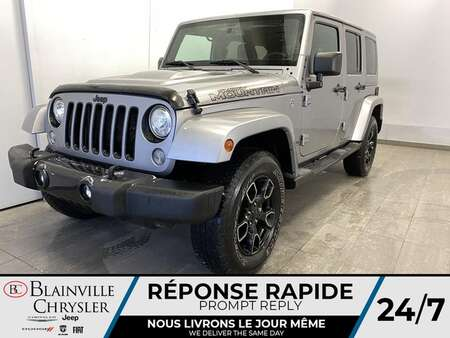 2017 Jeep Wrangler Unlimited * GPS * SIEGES CHAUFFANTS * BLUETOOTH for Sale  - BC-20606A  - Blainville Chrysler