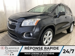 2015 Chevrolet Trax LTZ AWD * CAM RECUL * TOIT OUVRANT * BLUETOOTH  - BC-S1833  - Desmeules Chrysler