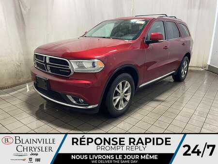 2014 Dodge Durango Limited AWD * CAM RECUL * GPS * BLUETOOTH for Sale  - BC-M1934  - Blainville Chrysler
