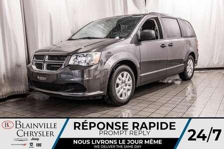 2018 Dodge Grand Caravan SE * VITRE TENTÉ * HITCH * CAM RECUL * for Sale  - BC-20154A  - Desmeules Chrysler