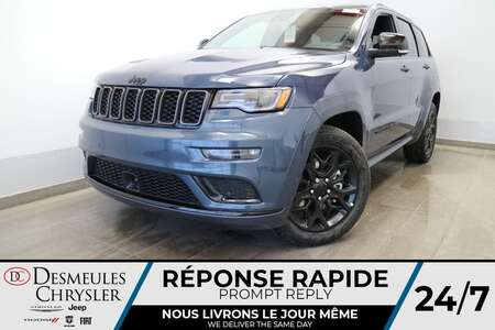 2021 Jeep Grand Cherokee LIMITED X 4X4 * UCONNECT 8.4 PO* NAVIGATION * CUIR for Sale  - DC-J21002  - Blainville Chrysler