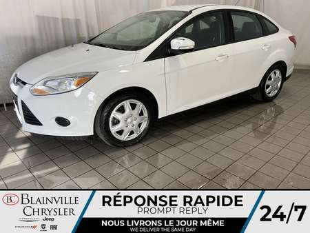 2014 Ford Focus SE * BLUETOOTH * CRUISE * A/C * SIEGES CHAUFFANTS for Sale  - BC-20327A  - Blainville Chrysler