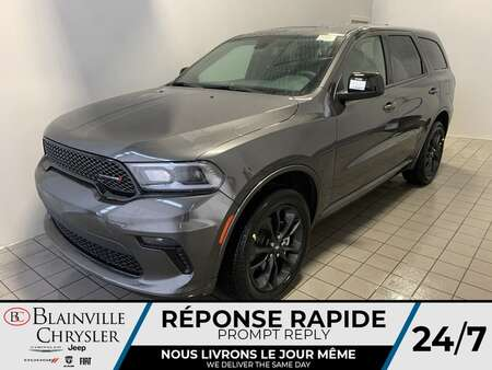 2021 Dodge Durango SXT BLACKTOP AWD * 7 PASSAGERS * TOIT OUVRANT & for Sale  - BC-21426  - Blainville Chrysler