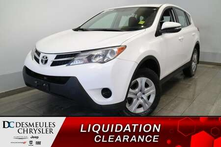 2015 Toyota RAV-4 LE AWD * AIR CLIMATISE * PRISE AUX * CRUISE * for Sale  - DC-E2494  - Blainville Chrysler
