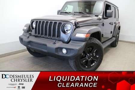 2021 Jeep Wrangler UNLIMITED SPORT 4X4 * UCONNECT 7 POUCES * CAMERA * for Sale  - DC-R2962  - Blainville Chrysler