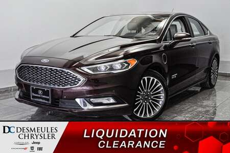 2017 Ford Fusion Energi Titanium * TOIT OUV * SIEGES CHAUFFANTS * A/C * for Sale  - DC-L2149  - Blainville Chrysler