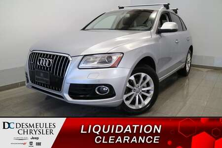 2015 Audi Q5 2.0T Technik * NAVIGATION * TOIT PANO * CUIR * A/C for Sale  - DC-E2349  - Desmeules Chrysler