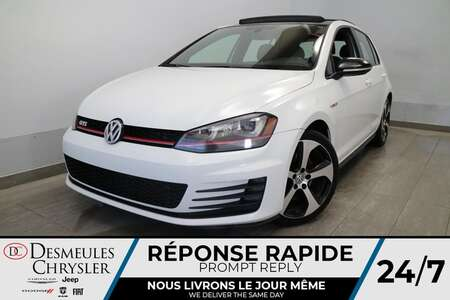 2017 Volkswagen Golf GTI GTI 2.0T * NAVIGATION * TOIT OUVRANT * CAMERA * for Sale  - DC-S2514  - Blainville Chrysler