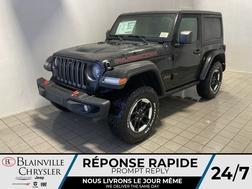 2021 Jeep Wrangler Rubicon 2L TURBO * TOIT RIGIDE * SIEGES & VOLANT  - BC-21422  - Blainville Chrysler
