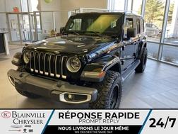 2021 Jeep Wrangler Sahara UNLIMITED * DEMO * ENS. PNEUS 35 ET MAG *  - BC-21011  - Blainville Chrysler