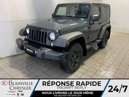 2017 Jeep Wrangler * BLUETOOTH * CRUISE * MANUEL * A/C for Sale  - BC-S2308  - Blainville Chrysler