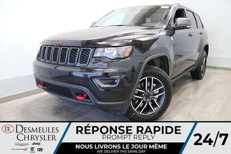 2021 Jeep Grand Cherokee Trailhawk 4X4  * UCONNECT 8.4 POUCES * NAV * CAM for Sale  - DC-21428  - Desmeules Chrysler