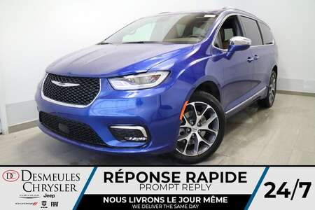2021 Chrysler Pacifica Limited AWD * NAVIGATION * UCONNECT 8.4 PO * CUIR for Sale  - DC-21470  - Desmeules Chrysler
