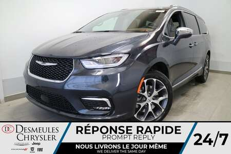 2021 Chrysler Pacifica Limited AWD * NAVIGATION * UCONNECT 8.4 PO  * CUIR for Sale  - DC-21463  - Blainville Chrysler