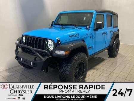 2021 Jeep Wrangler Unlimited Willys V6* 2 TOITS * SIÈGES ET VOLANT for Sale  - BC-21390  - Desmeules Chrysler
