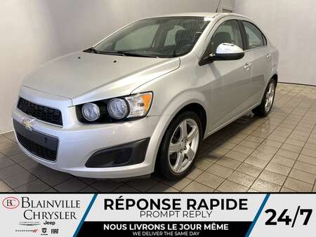 2013 Chevrolet Sonic LT * BLUETOOTH * CRUISE * A/C for Sale  - BC-S2048  - Blainville Chrysler