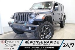2021 Jeep Wrangler Unlimited Rubicon HYBRID 4XE * UCONNECT 8.4 PO*NAV  - DC-21563  - Blainville Chrysler