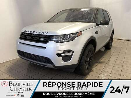 2017 Land Rover DISCOVERY SPORT HSE AWD * APPLE CARPLAY * TOIT PANO * CAM RECUL * for Sale  - BC-J2054  - Blainville Chrysler