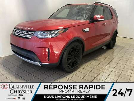 2017 Land Rover Discovery HSE Luxury* DIESEL * 7 PASSAGER * CRUISE ADAPTATIF for Sale  - BC-J2055  - Blainville Chrysler