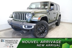 2021 Jeep Wrangler Unlimited Sahara 4XE HYBRID * NAVIGATION * WIFI *  - DC-21568  - Blainville Chrysler