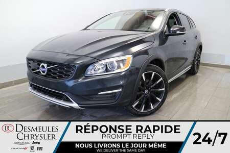 2018 Volvo V60 Cross Country AWD CROSS COUNTRY * NAVIGATION * TOIT * CUIR * for Sale  - DC-E2493  - Blainville Chrysler