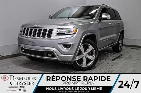 2016 Jeep Grand Cherokee Overland *A/C *Cam de recul * GPS * Toit pano for Sale  - DC-M1329  - Desmeules Chrysler