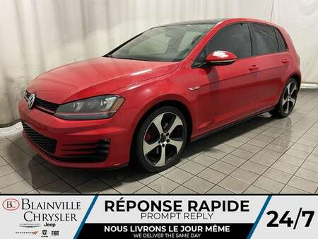 2015 Volkswagen Golf GTI GPS * TOIT OUVRANT * CAM RECUL * BLUETOOTH * A/C for Sale  - BC-C1746A  - Desmeules Chrysler
