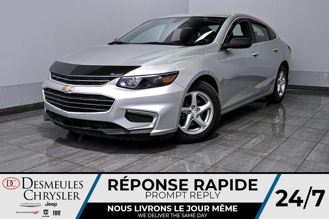 2017 Chevrolet Malibu  - Desmeules Chrysler